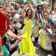 'Quero entrar com tudo em cima na Avenida', declara Paloma Bernardi, rainha de bateria da Grande Rio
