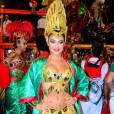 Paloma Bernardi já exibia excelente forma física no carnaval de 2015