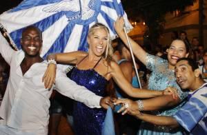 Adriane Galisteu esclarece que não será musa da Portela: 'Escolhi Velha Guarda'