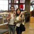 Fiuk anunciou na quinta-feira, 29 de agosto de 2013, que terminou seu namoro com a atriz e cantora Sophia Abrahão