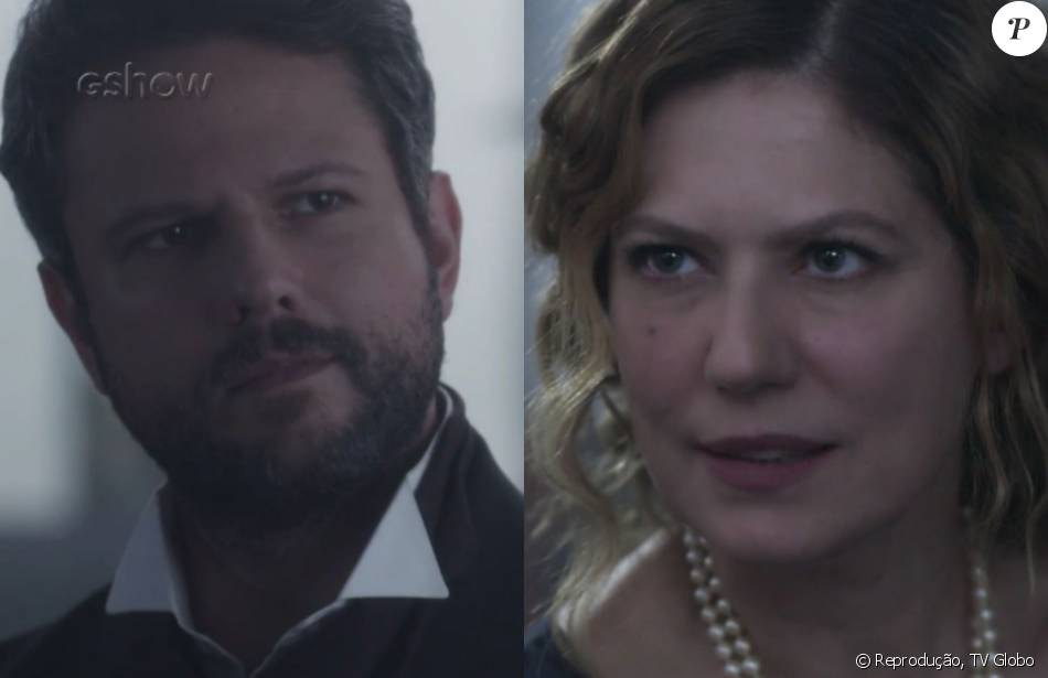 Isabel (Patrícia Pillar) e Augusto (Selton Mello) se estranham e declaram guerra