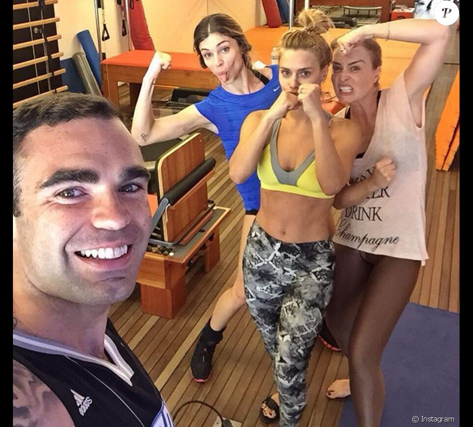 Personal trainer Chico Salgado explica boa forma de famosas como Grazi  Massafera, Angélica e Carolina 8217314ed9