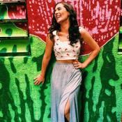Lívian Aragão diminui manequim ao parar de comer carne: 'Estou no 34 agora'