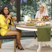 Anitta leva bronca de Ana Maria Braga ao vivo na TV:'Olha para mim quando falo!'