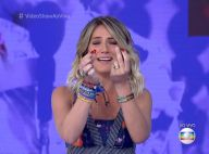 Giovanna Ewbank perde unha postiça na TV e Otaviano Costa brinca: 'Foi praga'