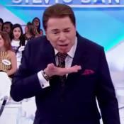 Silvio Santos se machuca durante programa e brinca: 'Não jogo mais dinheiro'