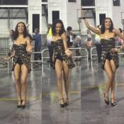 Carnaval 2016: Lucy Ramos brilha e dá show de samba em ensaio da Vai-Vai. Vídeo!