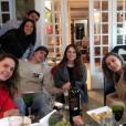 A jornalista gosta de compartilhar momentos com os amigos