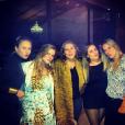 A BBB Ana Paula se divertiu à noite com amigas
