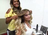 Viviane Araújo fica loira e alonga os fios para o Carnaval: 'Facilita muito'