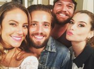 Paolla Oliveira se despede de 'Além do Tempo' com fotos de bastidores com elenco