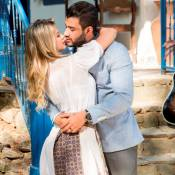 Gusttavo Lima grava clipe com a mulher, Andressa Suita: 'Grande profissional'