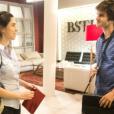 Novela 'Totalmente Demais': Débora (Olívia Torres) vai se apaixonar por Fabinho (Daniel Blanco)