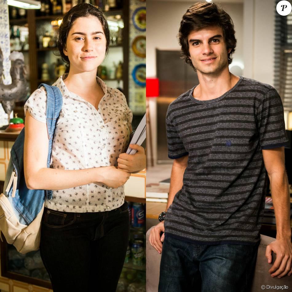 Na novela 'Totalmente Demais', Débora ( Olivia Torres)  vai ficar caidinha por Fabinho ( Daniel Blanco)