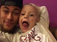 Neymar filma o filho, Davi Lucca, dançando música de MC Biel: 'Canta!'. Vídeos!