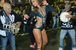Carnaval: Sabrina Sato usa body exclusivo durante ensaio da Gaviões da Fiel