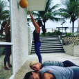 Juliana Paes, Flavia Alessandra e Giulia Costa treinam juntas nesta quarta-feira, 20 de janeiro de 2016