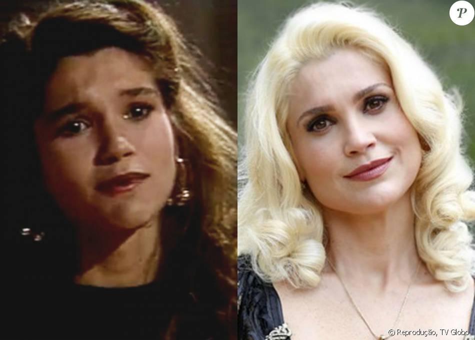 Flávia Alessandra participou do quadro 'Melhor de Três' do 'Domingão do Faustão', em 1989. Atualmente, a atriz é a vilã Sandra da novela 'Êta Mundo Bom!'