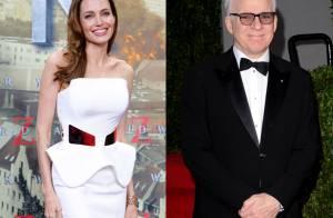 Angelina Jolie e Steve Martin serão homenageados no Oscar Honorário