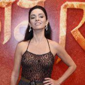 Cláudia Ohana usa blusa de quando tinha 18 anos em festa de 'Joia Rara'