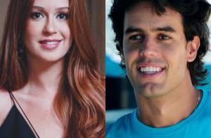Namorado de Marina Ruy Barbosa se declara à atriz: 'Te amo, coisinha'
