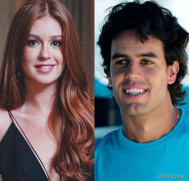 Marina Ruy Barbosa recebe declaração do namorado, Xandinho Negrão, em 23 de janeiro de 2015