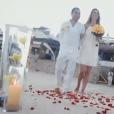 Luciano relembrou uma loucura de amor no dia do seu casamento: 'Eu joguei flores no caminho até a praia'