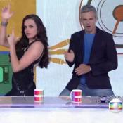 Monica Iozzi e Otaviano Costa dançam hit 'Paredão Metralhadora': 'Pras inimigas'