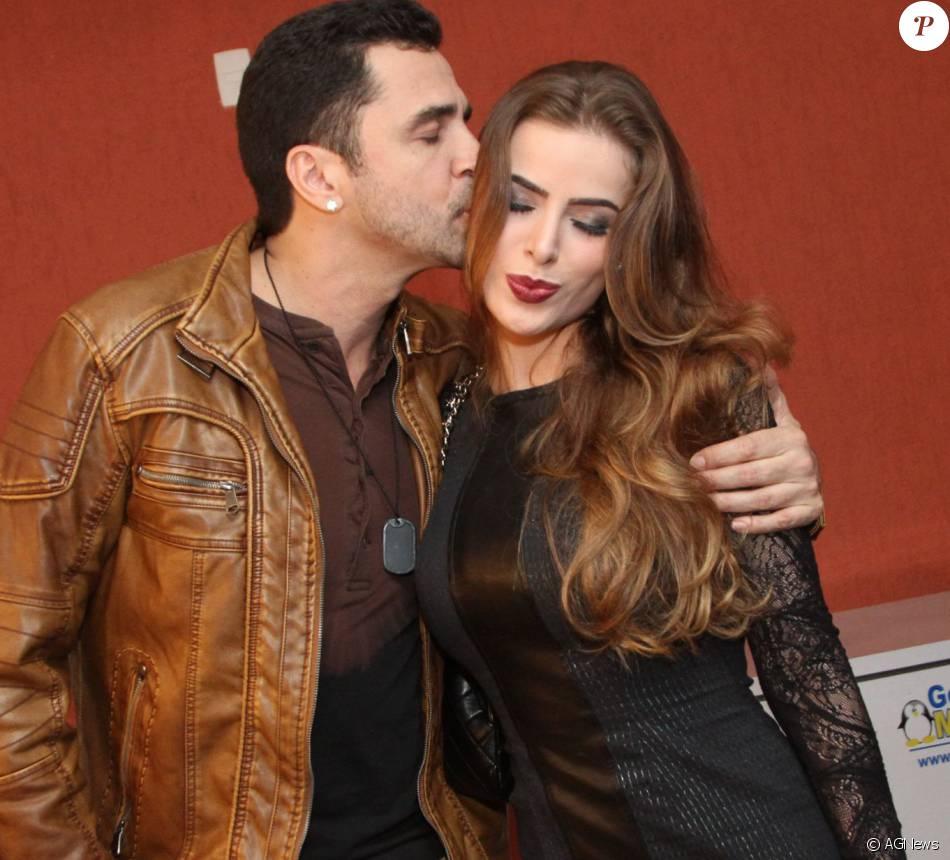 Rayanne Morais teria aproveitado a viagem de Latino para pegar presentes na casa do cantor