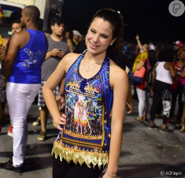 Sophia Raia irá interpretar sua mãe quando jovem e bailarina clássica, na comissão de frente da escola paulistana Nenê de Vila Matilde
