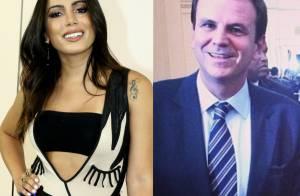 Carnaval: Anitta pediu pessoalmente ao prefeito do Rio autorização para bloco