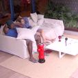 Em conversa com Ronan, Ana Paula contou que está irritada com algumas pessoas da casa
