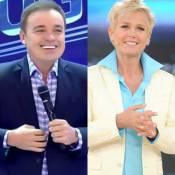 Gugu manda indireta para Xuxa em chamada de programa: 'Tem que ser ao vivo'