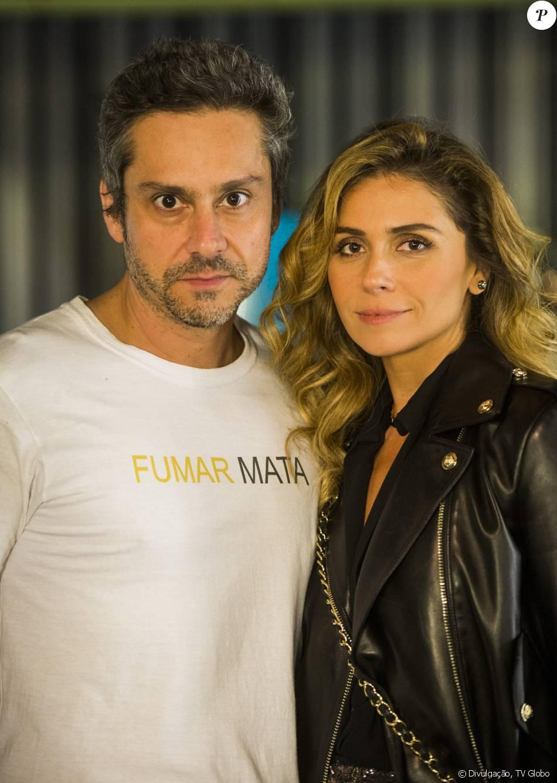 Romero (Alexandre Nero) e Atena (Giovanna Antonelli) vão adotar novas identidades na novela 'A Regra do Jogo': 'Francisco e Helena'