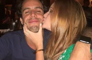 Marina Ruy Barbosa posta foto com o namorado após ganhar declaração na TV: '❤️'