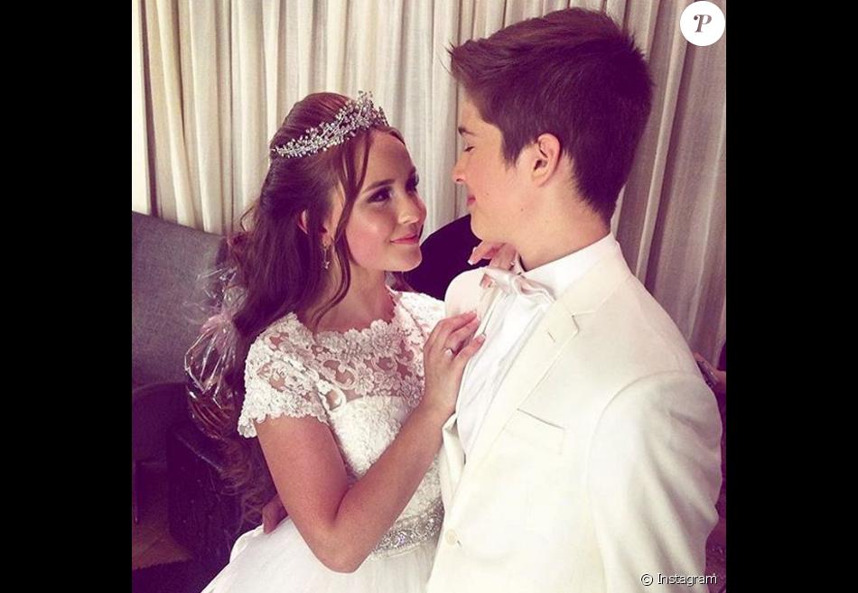 Larissa Manoela faz declaração no dia do aniversário do namorado, João Guilherme Ávila, que completa 14 anos nesta segunda-feira, 1º de fevereiro de 2016