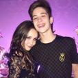 Larissa Manoela e João Guilherme estão anmorando há 4 meses