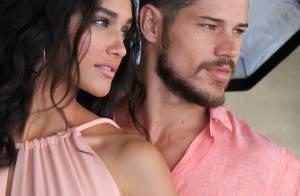 Débora Nascimento e José Loreto posam em clima romântico para ensaio. Fotos!