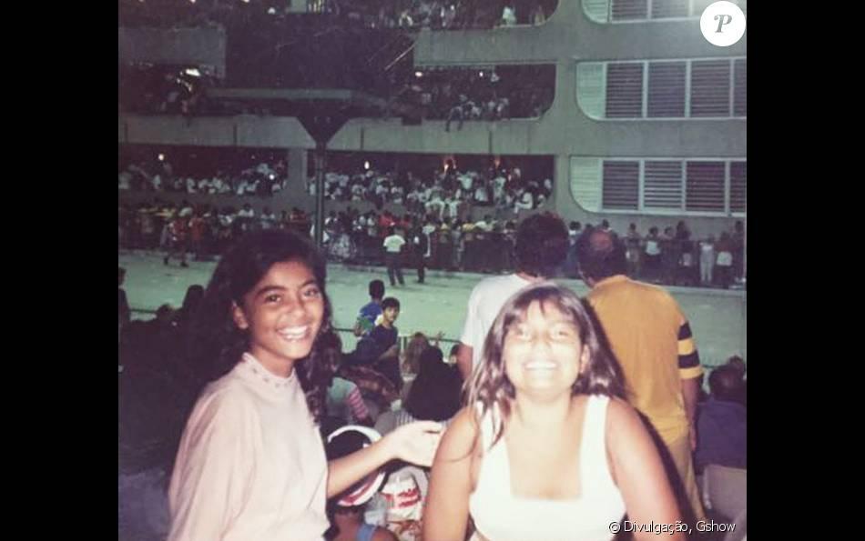 bf2c99628 Juliana Paes mostra 1ª ida ao sambódromo em foto antiga: 'Dali nasceu a  paixão