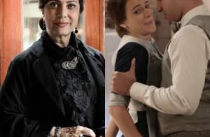 Novela 'Êta Mundo Bom!': Anastácia descobre que Celso está assediando Maria