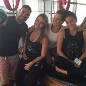 Bruna Marquezine e Fernanda Souza fazem pilates e boxe juntos: 'Difícil'. Vídeo!