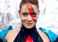 Leandra Leal homenageia David Bowie em bloco de Carnaval: 'Fantasia da noite'