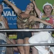 Carnaval 2016: Viviane Araújo deixa pernas à mostra com short curto em Salvador