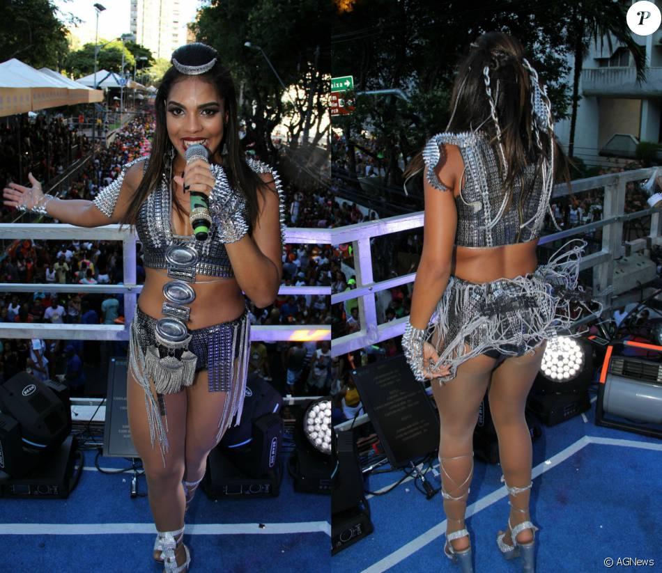 Tays Reis Dona Do Hit Do Carnaval Paredao Metralhadora Caprichou Nos Looks Para Estrear No Carnaval De Salvador Comandando O Trio Da Banda Vingadora Purepeople