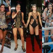 Musas do Carnaval de Salvador! De veteranas a estreantes, veja quem brilhou