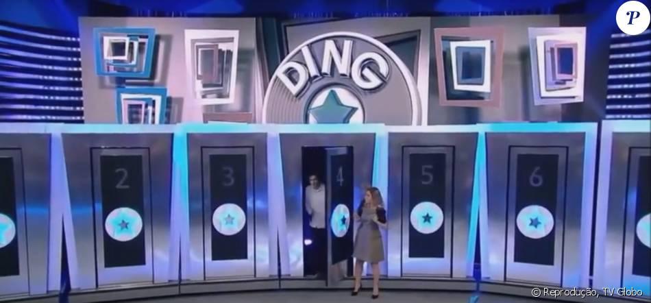 Felipe Dylon participou do quadro Ding Dong no 'Domingão do Faustão' e errou a hora de sua apresentação neste domingo, 7 de fevereiro de 2016