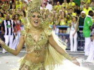 Paloma Bernardi brinca sobre sua fantasia na Grande Rio: 'Sou o troféu'. Vídeo!
