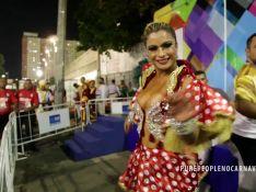 Dani Sperle descarta tapa-sexo de 2,5 cm cair em desfile: 'Cola alemã'. Vídeo!