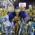 Sabrina Sato desfila há seis anos como rainha de bateria da Vila Isabel no Carnaval do Rio de Janeiro