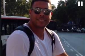 Ronaldo festeja homenagem da Gaviões da Fiel no Carnaval de 2014: 'Ansioso'